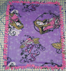 Disney Fleece Baby Blanket Pet Lap Princess Tinker Bell Maleficent Cinderella