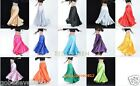 Brand New Beatiful Belly Dance Satin Skirt 14 Colors One Size Free Shipping