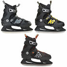 K2 F.I.T. Ice Patines Patines hielo FIT Hombre Patines de hielo Negro NUEVO