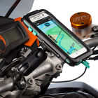 Ultimateaddons Motorcycle U-Bolt Bike Mount + Hard Waterproof Case for Galaxy S7