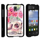 For Alcatel One Touch Pop Star A845G Two Piece Case Unique Designs + Stylus Pen