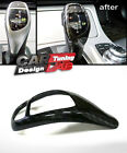 Carbon Fiber Gear Shifter Shift Knob Cover Overlay For BMW F10 F30 etc