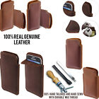 For Samsung Galaxy S5 mini G800 Sleeve Genuine Leather POUCH Case Cover +Pen