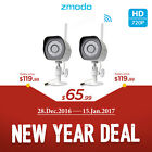 Christmas Gift Zmodo Outdoor Wireless 720p IP Network IR Home Security Camera