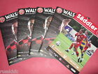 2016/17 WALSALL HOME PROGRAMMES CHOOSE FROM