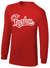 WWE NIKKI BELLA THE BELLA TWINS Stay Fearless OFFICIAL LONG SLEEVE T-SHIRT