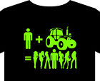 Tractor T Shirt up to 5XL, deere, girl magnet, ploughing, farm, gift