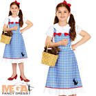 Dorothy Girls Fancy Dress Fairytale World Book Day Week Childrens Kids Costume