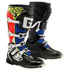 NEW 2017 GAERNE SG REACT MOTOCROSS BOOTS BLACK / RED / BLUE / FLUO ALL SIZES