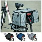 Large Double Bicycle Pannier Bag Water Resistant Rear Bike Cycle Rack Carrier