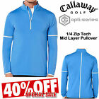 CALLAWAY GOLF FLEECE OPTI-SERIES® 1/4 ZIP GOLF FLEECE JUMPER MENS GOLF JUMPER