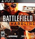 SONY PlayStation 3 BATTLEFIELD HARDLINE 2015 video game 100% Complete w case PS3
