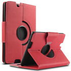 """360 Rotating PU Leather Case Cover w/ Stand for Amazon Kindle Fire HDX 7"""" 2013"""