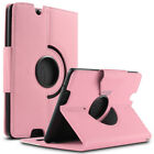 "360 Rotating PU Leather Case Cover w/ Stand for Amazon Kindle Fire HDX 7"" 2013"