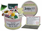 Mother's Day Survival Kit In A Can. Novelty Gift - Fun Mum/Mam/Mom Present/Card