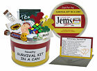 ANNIVERSARY Survival Kit In A Can. 1st/2nd/3rd/5th/10th/20th/25th/30th/40th Gift