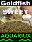 Aquariux goldfish Sweet pellets premium grade gold fish feed with unique coconut