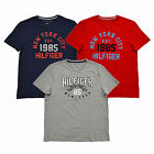 Tommy Hilfiger Mens T-shirt Graphic Tee Applique Crew Neck Short Sleeve Ny New