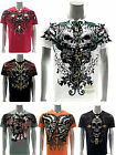 Artful Custom Men T-shirt Present Gift Skull Fashion Swag Cotton Tee Halloween
