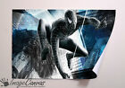 DARK SUITED SPIDERMAN MOVIE GIANT WALL ART POSTER A0 A1 A2 A3