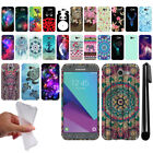 For Samsung Galaxy J3 Emerge J327 2nd Gen Design TPU SILICONE Case Cover + Pen