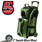 Brunswick Flash X Premium 3 Ball Bowling Roller Bag Color Lime Green