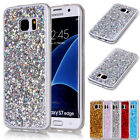 Ultra Thin Soft TPU Rubber Glitter Bling Case Cover For Samsung Galaxy S7 Edge