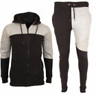 Mens Ful Tracksuit Hoodie Active Sports Jogging Top Bottom Warm Fleece UK S-XL
