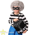 CHILDS BURGLAR GRANNY BOOK CHARACTER FANCY DRESS JEWEL THIEF GRANDMA COSTUME