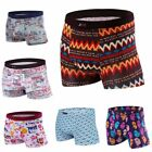Colorful Fashion Underpants Boxer Briefs  Shorts Man's Printing New