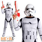 Stormtrooper Adults Star Wars Jumpsuit Movie Film Mask Mens Fancy Dress Costume
