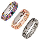 Hot!2017 Fashion Stainless Steel Bangle Strap Wristband Bracelet For Fitbit Alta