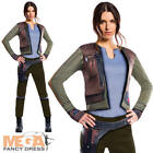 Deluxe Jyn Erso Ladies Fancy Dress Star Wars Rogue One Womens Adults Costume New
