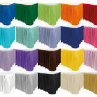 14ft Table Skirts - Choose your colour - Plastic - tableskirt - Skirt