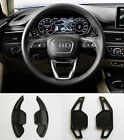 Pinalloy Black Metal Steering Paddle Shifter Extension Audi A3 A4 A5 A6 A7 TT