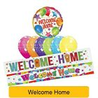 Welcome Home - Range Of Party Balloons, Banners & Decorations