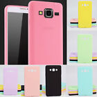 6 Color Premium Jelly TPU Rubber Gel Soft Case For Samsung Galaxy S/A/J/G/E Note
