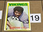 1972 TOPPS FOOTBALL HIGH NUMBER 3RD SERIES SP SINGLE CARD LOTS complete your set