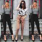 Sexy Women Skinny Long Pants High Waist Stretch Jeans Slim Pencil Trousers B20E