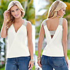 Sleeveless Top Women Fashion Summer Blouse T-Shirts Blouse Vest Casual Tank Tops