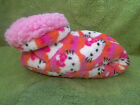 NEW Girls Hello Kitty Slippers, Size M/L 3-4, Very SOft,NEW
