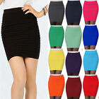 Fancy Ladies Slim A-Line Skirts Pencil Pleated Bodycon Mini Short Dress Dreamed