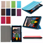 Ultra Slim Leather Case Cover Skin Stand For Lenovo Tab 3 7 TB3-730M/F Tablet