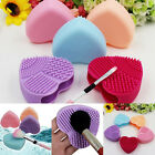 Beauty Silicone Makeup Brush Washing Scrubber Board Cosmetic Cleaning Mat Pad