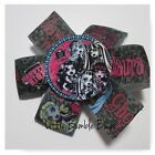 Baby/Toddler/Girl/Adult 3.5 Inch Pin Wheel Bow - Monster High - Dolls
