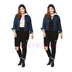 Womens V Lace Up Bandage Plus Size Casual Blouse Loose Long Sleeve T-Shirt Top