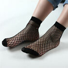 1/3/5 Pairs Women's Ruffle Fishnet Socks Mesh Lace Fish Net Socks Ankle High New