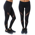 USA Women Yoga Fitness Leggings Running Gym Stretch Sports Pants Trousers