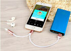 Audio Headphone Adapter For IPHONE 7 / 7 PLUS 2 In 1 AUX 3.5mm Charger Spliter