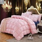 1pc Solid Single Queen King Size Quilt / Doona New Soft Comforter Not Pillowcase